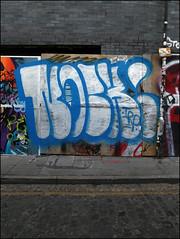 Noch (Alex Ellison) Tags: urban graffiti boobs graff irp notch eastlondon noch htb