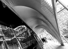 The High Line Installation Designed By Zaha Hadid, NYC DSC06278-Edit (nianci pan) Tags: park city nyc urban bw newyork building geometric architecture construction pattern cityscape geometry manhattan sony pan shelter curve highline 纽约 曼哈顿 sonyalphadslr sahahadid nianci sonyphotographing