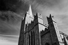 Saint Patrick's Cathedral (alceccanti) Tags: ireland bw dublin eire biancoenero dublino irlanda saintpatrickscathedral cattedraledisanpatrizio sonyphotographing sonydt18250mm sonysti sonyslta58 captureone8windows easter2016 pasqua2016