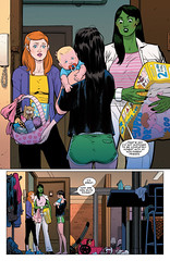 Spider-Woman #5  pag.4 (Javier The Rodriguez) Tags: dennis lopez marvel javier alvaro rodriguez hopeless spiderwoman