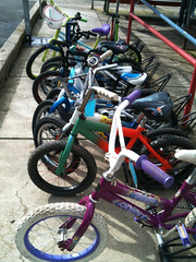 Community Cyling Center Bike Cleanup_Finished Bikes