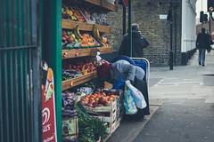 Untitled (JRS-IW-Photography) Tags: uk portrait england people woman london fruit canon outside market candid stall shops hackney dslr veg stoke newington dalston 750d