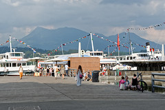 Lucerne 10 (mpetr1960) Tags: people switzerland nikon europe ship eu lucerne embankment d800 nikond800