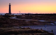 The Grey Lighthouse (Poul-Werner) Tags: ocean family sunset sea beach strand easter denmark view familie dk danmark lighttower skagen ferie pske hav solnedgang udsigt grenen fyrtrn northdenmarkregion