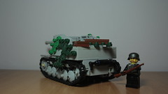 Marder II (italianww2builder) Tags: 2 war tank lego destroyer ii ww2 custom panzer marder