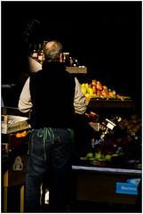 Il fruttivendolo - The fruiterer (Matteo Bersani) Tags: man color shop fruit dark strada colore ombra negozio frutta a58 fruttivendolo streetphotograpy fruiterer negoziante sonyalphaitalia corsogarbaldi milanoitaliamilanitaly