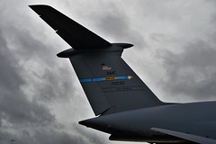 C-5 Super Galaxy Tail Fin (aCleary26) Tags: tampa airplane tampabay florida aviation tail super airshow galaxy fin tanker c5 tailfin airfest macdillafb macdillairforcebase doverafb macdillairfest avporn c5supergalaxy