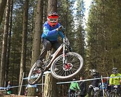 02 MTB SCDH 16 Apr 2016 (14) (Kate Mate 111) Tags: uk mountain bike forest cycling crash sheffield yorkshire steve competition racing downhill peat riding mtb mountainbiking grenoside
