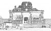 India - Karnataka - Hampi - Krishna Temple - 21c (asienman) Tags: india unescoworldheritagesite karnataka hampi vijayanagara asienmanphotography asienmanphotoart