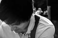 95.365 Kenzo (magaly.frances) Tags: nyc summer portrait usa newyork monochrome photography blackwhite friend photographie noiretblanc ami homme nikond5200