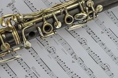 Music... [2010] (Jose Constantino Gallery) Tags: wood music indoor staff clarinet musicsheet woodinstrument