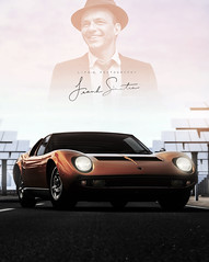 Frank S. (lifegphotos) Tags: music classic cars vintage lights automotive tribute lamborghini granturismo franksinatra ps3