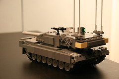 News Flash! (Connor Querin) Tags: canada tank lego wip can indoors leopard german armor mbt armour afv 2a6