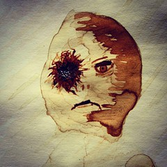 Mugshots #coffeecreepers #coffepainting #art #WIP #monsters... (nathanrobinson2) Tags: art coffee painting artwork paint wip horror demon undead monsters zombies creatures creature paints gunshot esspresso azera coffepainting uploaded:by=flickstagram coffeecreepers instagram:photo=1006659422797431800184137303