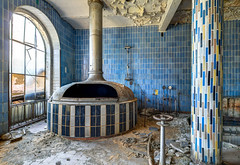 The blue Brewery (Planitzer Pictures) Tags: abandoned alt decay forgotten brewery blau verlassen brauerei verfall marode