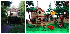 The People of Laaf (Swan Dutchman) Tags: fairytale lego amusementpark efteling monorail attraction kaatsheuvel laven laaf volkvanlaaf lavenlaar peopleoflaaf lotskraamhuys