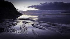 newborough beach (kdb_2010) Tags: sunset reflection beach water wales clouds sand dunes dune snowdonia nightfall anglesey llanddwynisland newboroughbeach