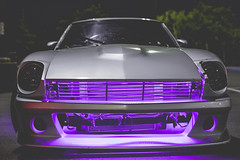 IMG_1256 (Grinched Photography) Tags: show up car photography meet datsun underglow