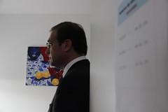 Pedro Passos Coelho no Centro de Dia Geração + em Cascais