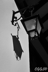 "(""CGGS Photography"" on Facebook) Tags: light shadow blackandwhite bw byn blancoynegro luz photography lights luces nikon farola streetlight shadows lamppost fotografia sombras colourless airelibre monocromático d90 monocromatico incoloro cggs nikond90"