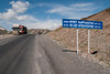 Another pass, but quality of road is much better (Michal Pawelczyk) Tags: road trip holiday bike bicycle june nikon asia flickr roadsign aim centralasia pamir wakacje 2015 czerwiec azja d80 pamirhighway azjasrodkowa azjacentralna