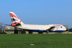 British Airways Boeing 747-400 G-BNLW (SimonFewkes) Tags: aircraft cotswolds recycling kemble