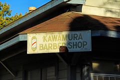 Kawamura's Barber Shop (Walt Barnes) Tags: street old building history window architecture canon eos japanese chinese delta structure calif historic barbershop locke fitch topaz kawamura walnutgrove wildroot amberlion streetshoot 60d canoneos60d eos60d vijon topazclarity beaukreml topazinfocus dandruffremover wdbones99