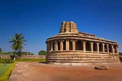 Durga Temple, Aihole (Vamshi Krishna S) Tags: architecture badami chalukya aihole pattadakal durgatemple pattadaka