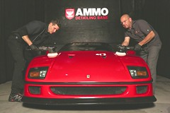 Ferrari F40 with Kevin Brown