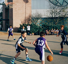 Willows vs 7 Arrows (elevatoro) Tags: school basketball sport center grade tommy recreation tied 5th willows palisades 2016 leibow