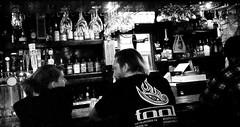 Hit-on II (Ko Zushi Photography) Tags: street urban blackandwhite woman white cinema man black guy film girl sex female bar noir noiretblanc drink grain dive drinking streetphotography liquor urbanexploration cinematic drama blanc alchohol stroy whitegirl