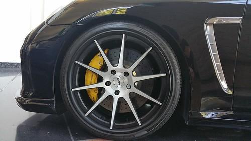 Porsche Panamera Turbo Adv1 Wheels