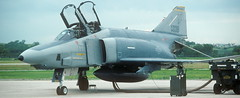 RF-4C, 64-1039, 173 TRS, 155 TRG, Nebraska ANG, Lincoln Airport, 2 August 1993 (Anne Fintelman) Tags: rf4c lincolnairport nebraskaairnationalguard nebraskaang 173trs 155trg 641039