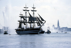 Amerigo Vespucci (larry_antwerp) Tags: port sailing ship belgium belgi vessel 1993 antwerp tug schelde  antwerpen  sleepboot schip     amerigovespucci                        5072008      8915471  5003459       eurosail93 thecuttysarktallshipsrace