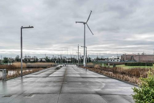 Wind Powered Public Park In Clongriffin Dublin [Father Collins Park]-110936