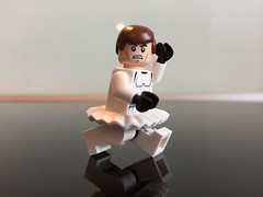 Han Solo dance first ! (Tony DZ) Tags: star starwars lego 15 solo disguise stormtrooper wars minifig srie han tutu disguised dguisement danseuse minifigures