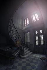 Urbex (Photo-LB) Tags: france architecture piano fisheye villa chteau urbex ficheye samyang nikond800 samyang12mm