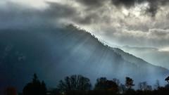 Sonnenstrahlen Schnappenberg (Aah-Yeah) Tags: sunlight fog bayern nebel sonnenstrahlen sunbeams achental chiemgau grassau schnappenberg