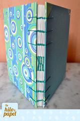 Copta azul (Vita-design) Tags: handmade crafts sketchbook bookbinding cuaderno libretas copta encuadernacin dehiloypapel