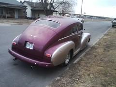 1948 Chevy Fleetline Aerosedan [3] (JeromeG111) Tags: auto 1948 chevrolet car automobile chevy fleetline cellphonecamera 2016 classicauto aerosedan