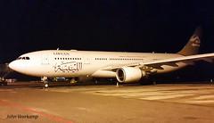 JV-2016-01-24-012 (johnveerkamp) Tags: plane airbus uganda airlines libyan a330202 5alar