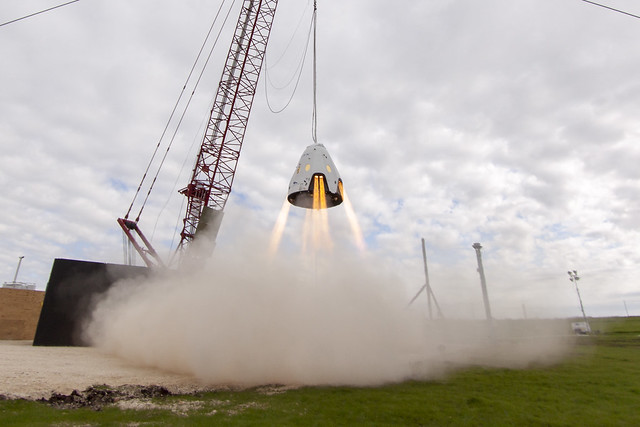 Dragon 2 hover test