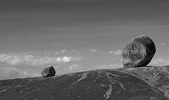 Kopje Rocks (BW) (lbergman100) Tags: africa rock tanzania safari serengeti kopje
