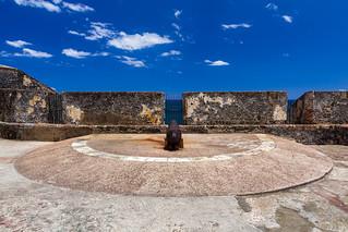Canon at El Morro