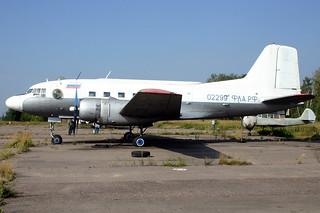 FLARF-02299 Ilyushin IL-14TG @ Moscow Myachkovo 15-Aug-2005 by Johan Hetebrij
