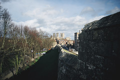 View Towards York Minster (Matthew-King) Tags: from york city view down walls minster towards