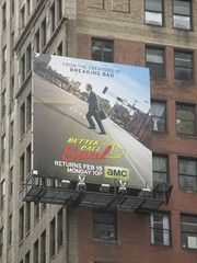 Better Call Saul Building Billboard 5954 (Brechtbug) Tags: show street new nyc walter white signs man building bus face its television hail yellow wall season for bill tv call king all remember with good name board telephone bad bob billboard advertisement bryan angry billboards actor saul amc avenue 7th better 29th spinoff breaking goodman odenkirk 2016 cranston my 01292016