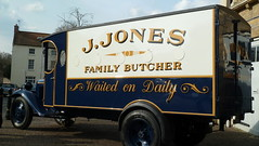 JONES`S BUTCHERS VAN (merseymouse) Tags: dadsarmy jonessvan