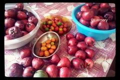 Hummmm - tudo do p!!! (Ju Emery) Tags: frutas braslia yummy backyard manga fruta mango quintal delicioso delicia bsb hummmm jambo siriguela fruir seriguela fruito juemery semagrotxico frutasdop