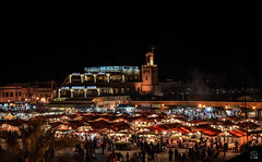 una notte a Marrakesh (io.robin) Tags: very maroc marocco maghreb marrakesh piazza jamaaelfna verythank